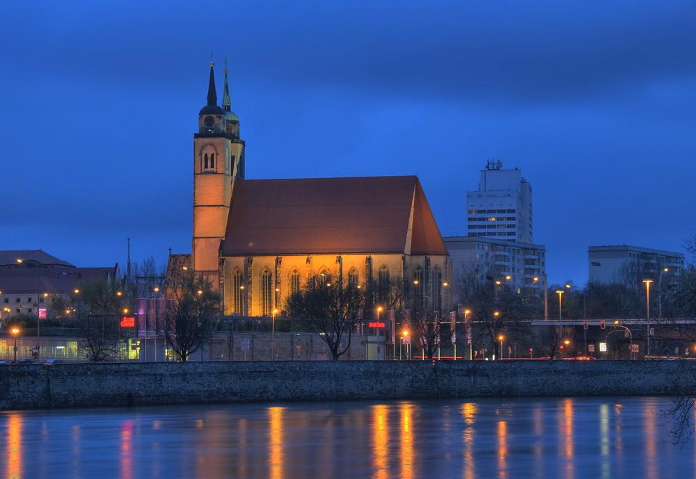 Johannis Kirche in Magdeburg an der Elbe