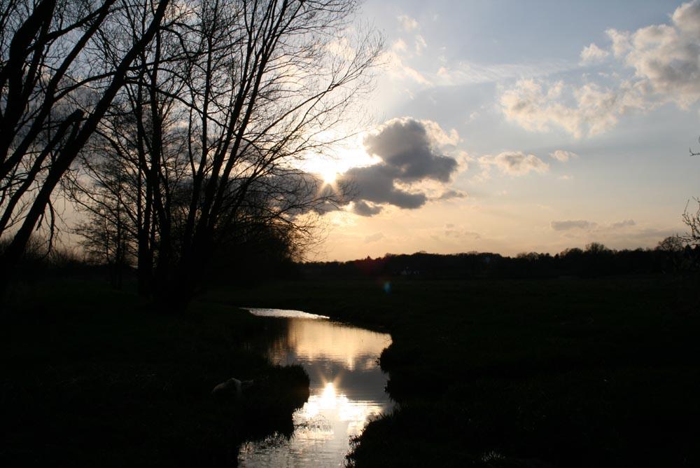 Johannisbach März 2008