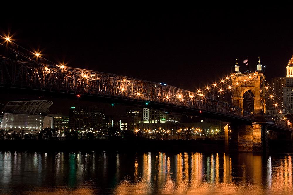 John A. Roeblin Suspension Bridge