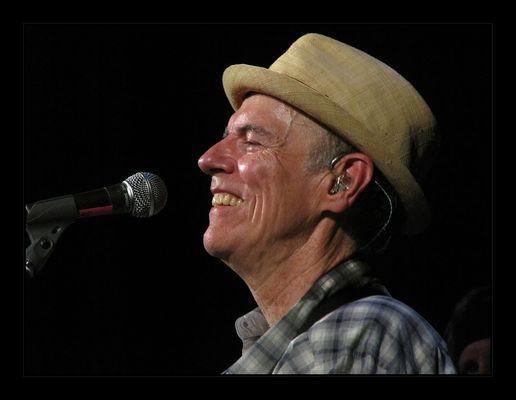 John Hiatt (laughing portrait)