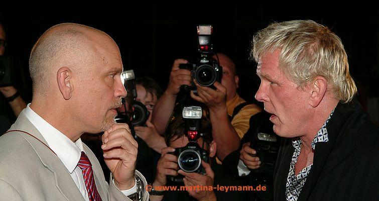 John Malkovich und Nick Nolte