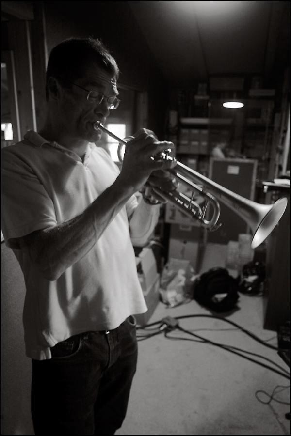John Marshall im Tonstudio-1