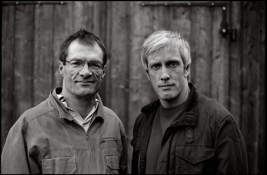 John Marshall und Grant Stewart.....