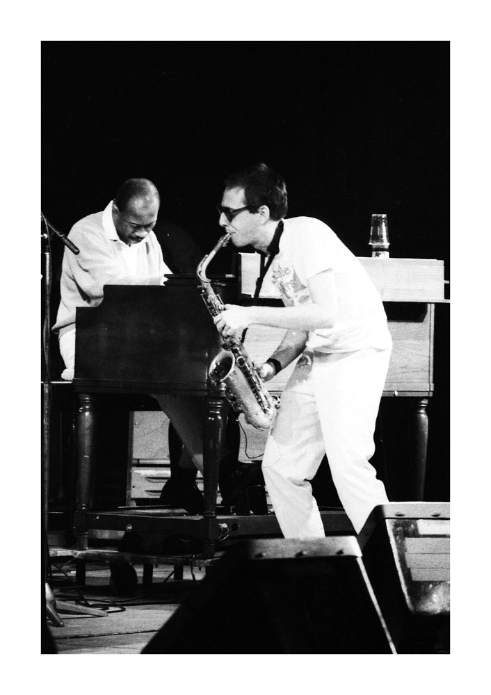 John Zorn & John Patton / Jazzfestival Saalfelden 1988