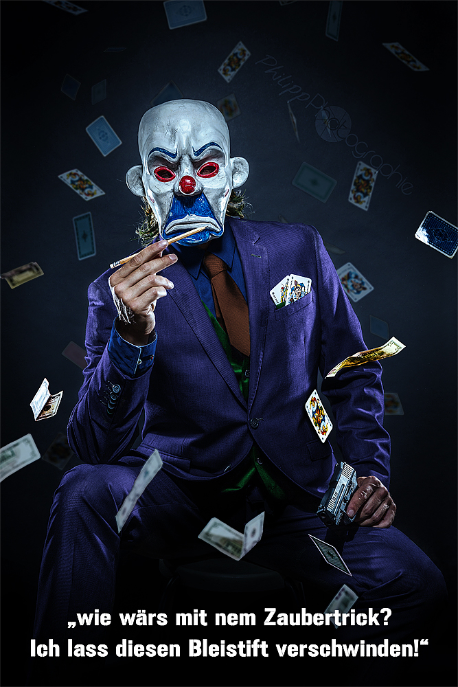 Joker and the Killer-Pen