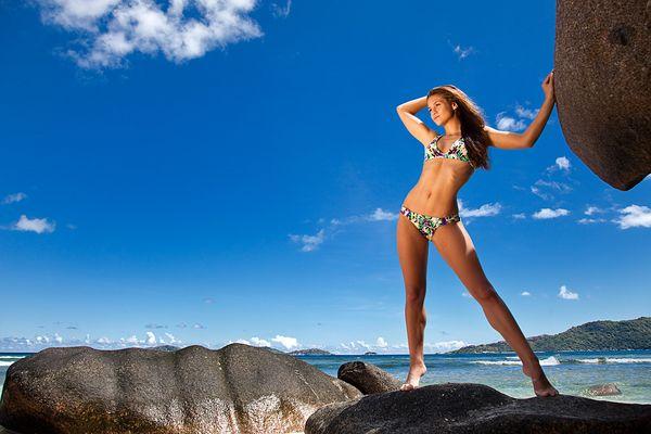 Jolina auf La Digue, Seychellen