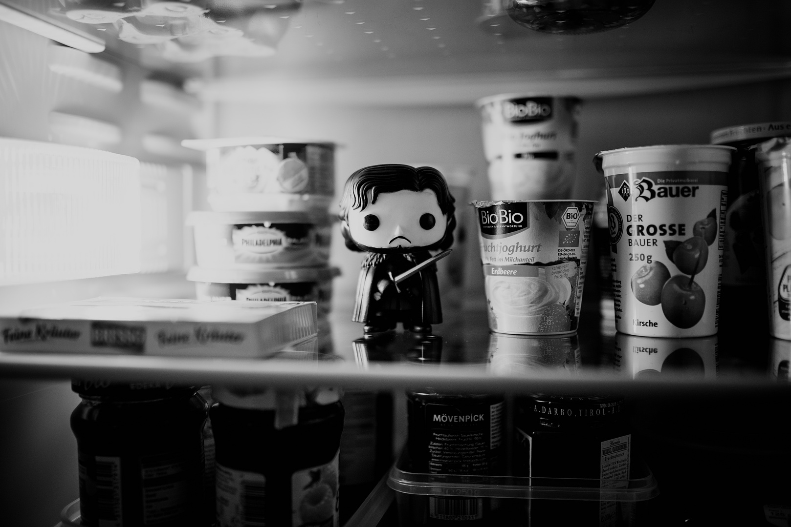 Jon Snow in the fridge