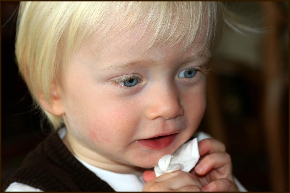 Jonathan - der Stolz seiner Eltern und Großeltern - Oktober 2009...