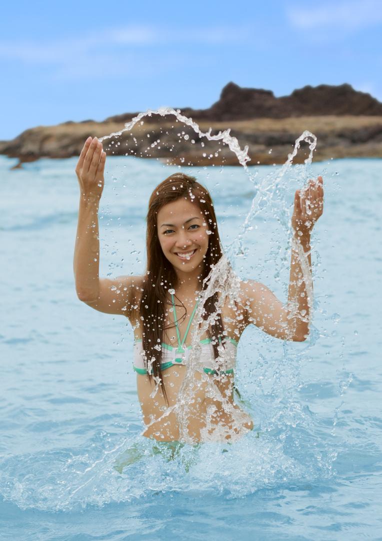 Jonavi Quiray, Beach, Water