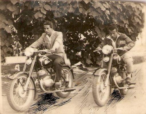 JOÃO CARLOS, ADÃO LEONILDO. DUPLA MONARK (1953)
