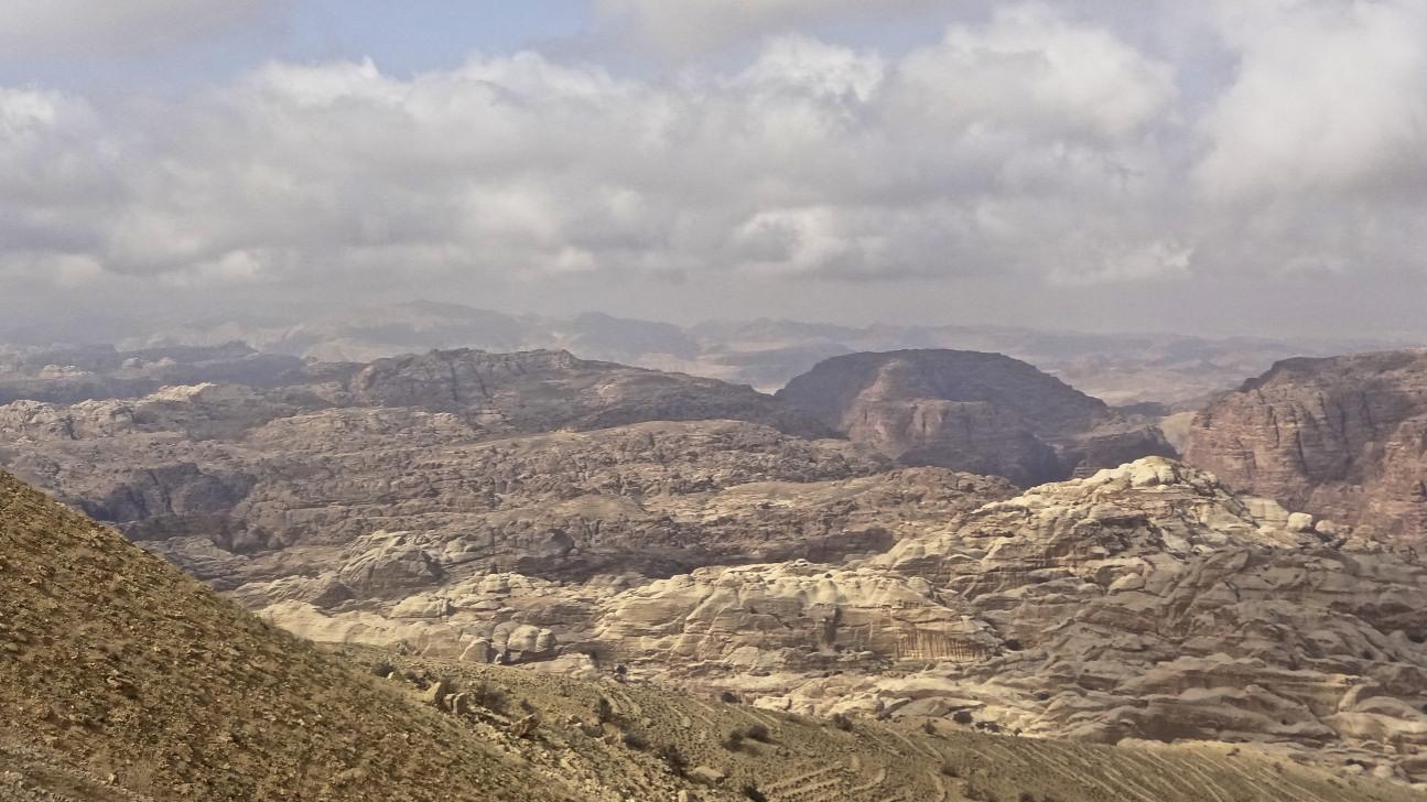 Jordanien ,Wüstenlandschaft