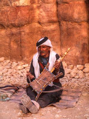 Jordanische Geige