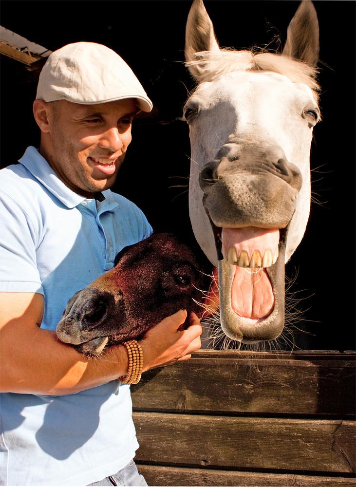 José Alvarez, glücklicher Jungzüchter