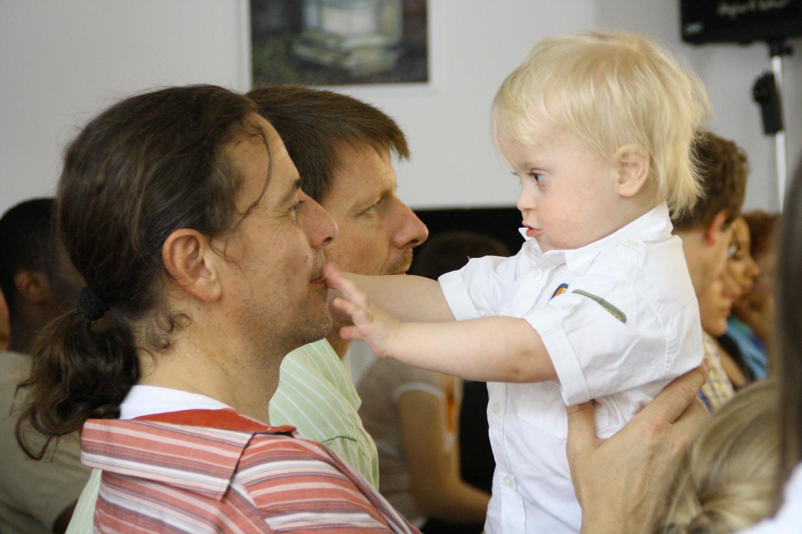 Joshi und sein Papa