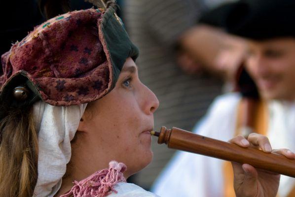 joueuse de flute