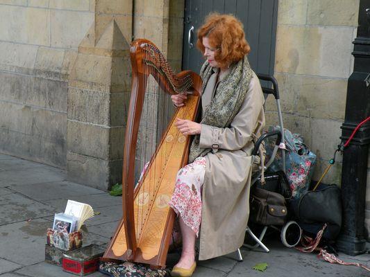 Joueuse de Harpe