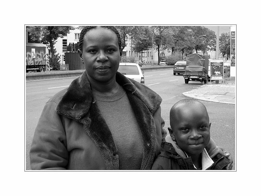 Joyce und Benjamin aus Uganda