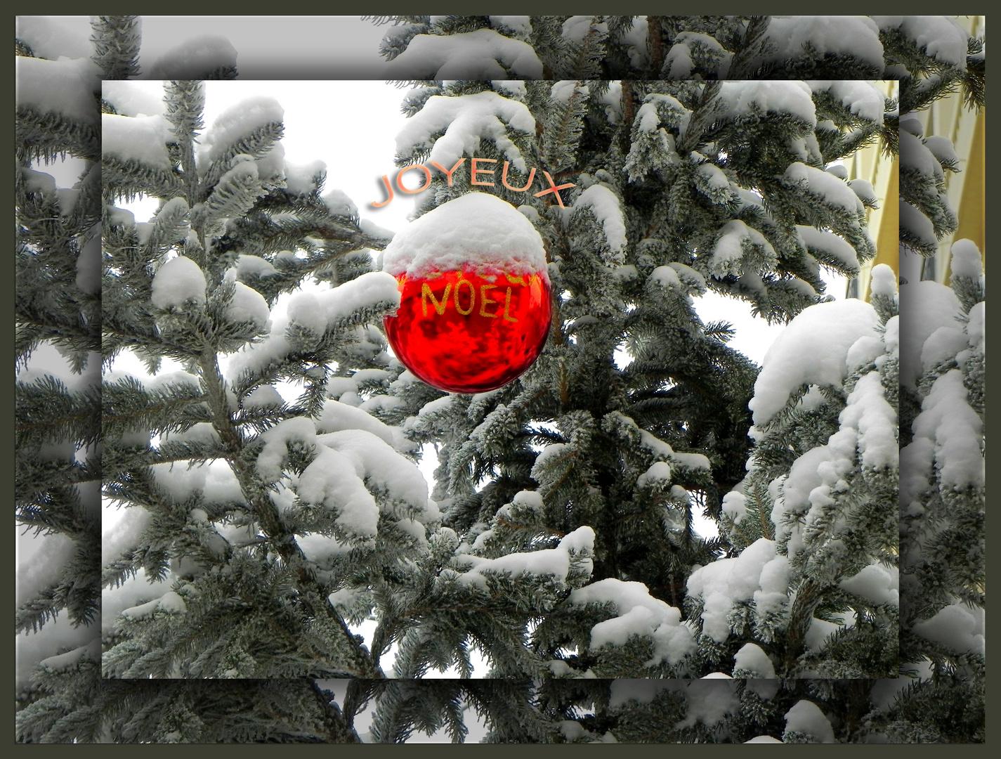Joyeux Nöel à tous et à toutes!