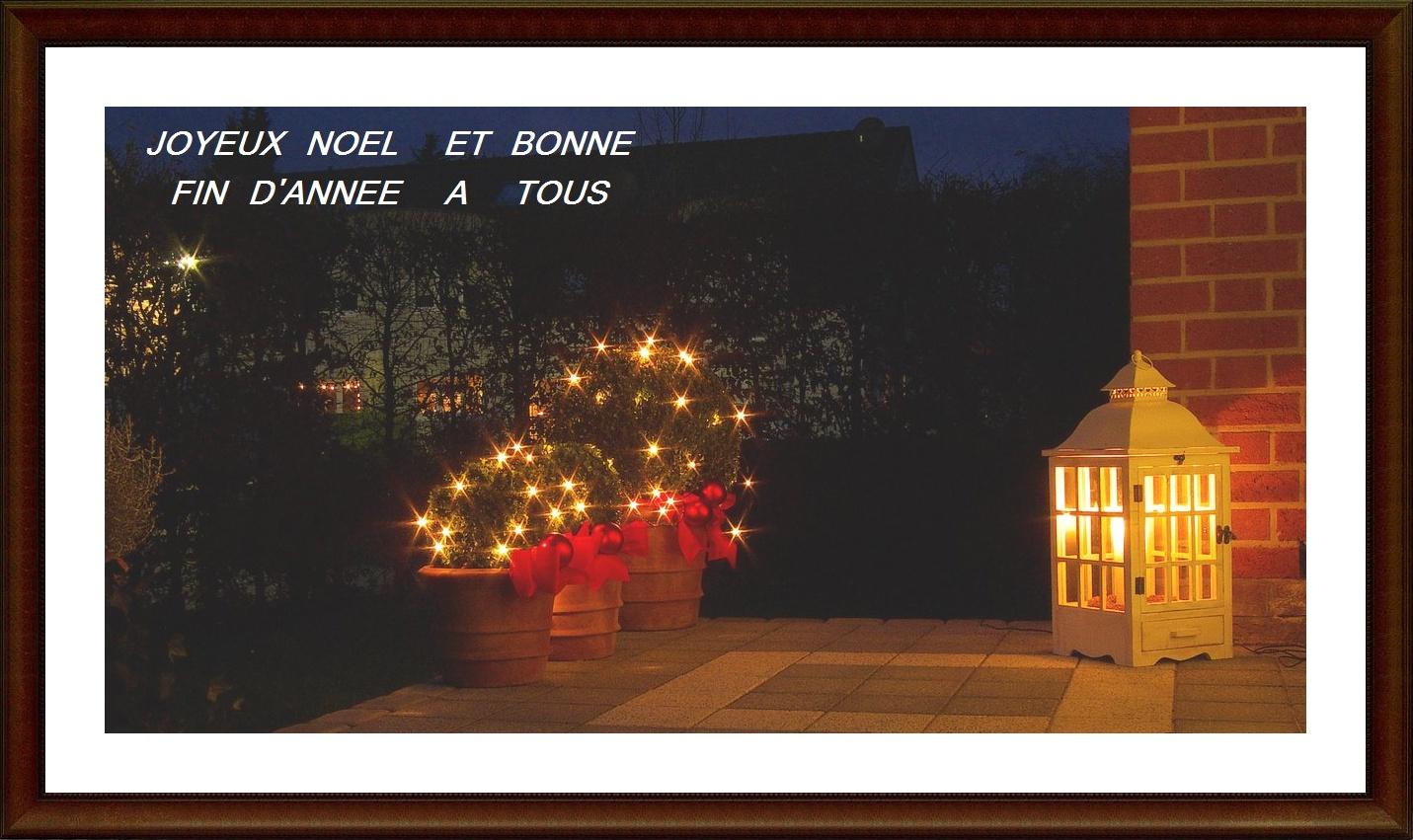Joyeux Noêl et Bonne Année