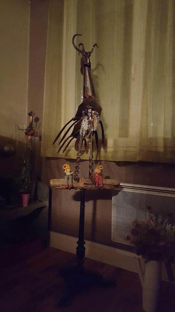 JP.DURANTI. Grand oiseau