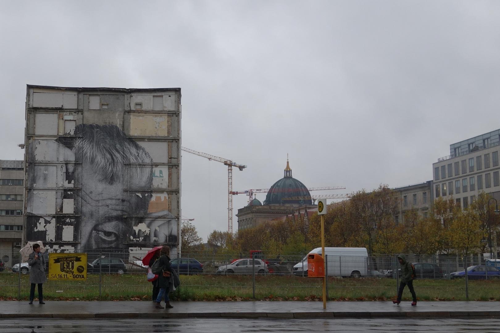 JR was there (Berlin-Mitte), now in Baden Baden
