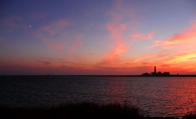 Jubiläums-Sonnenuntergang