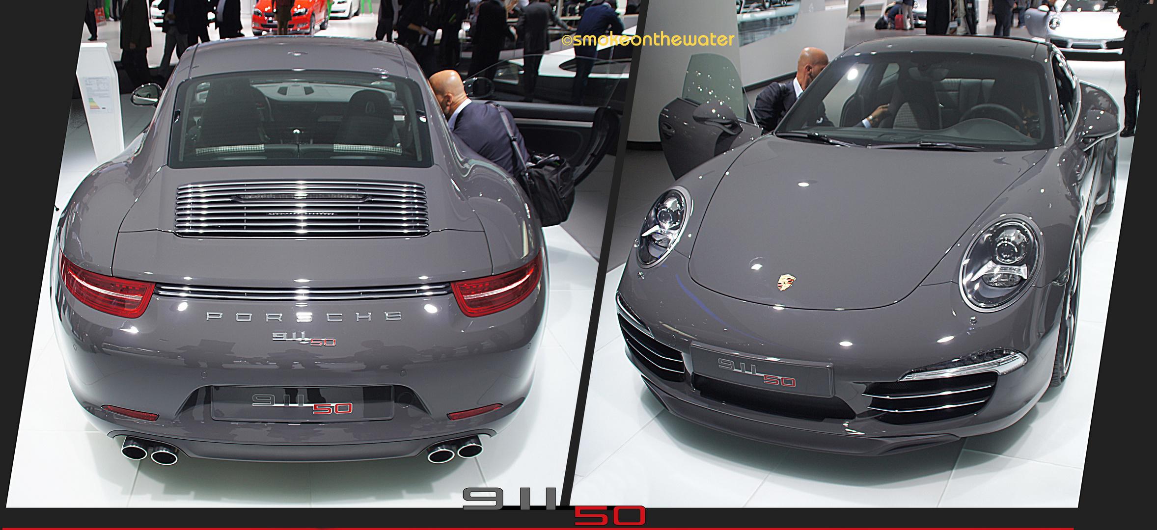 Jubiläumsmodell 50 Jahre Porsche 911