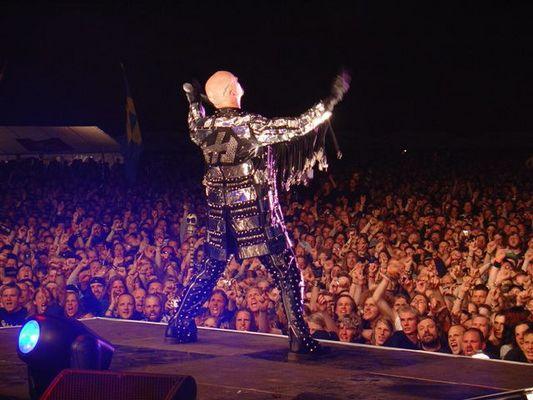 Judas Priest konsert in sweden.
