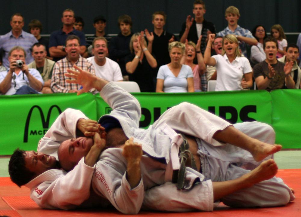 Judo - Abgewürgt!