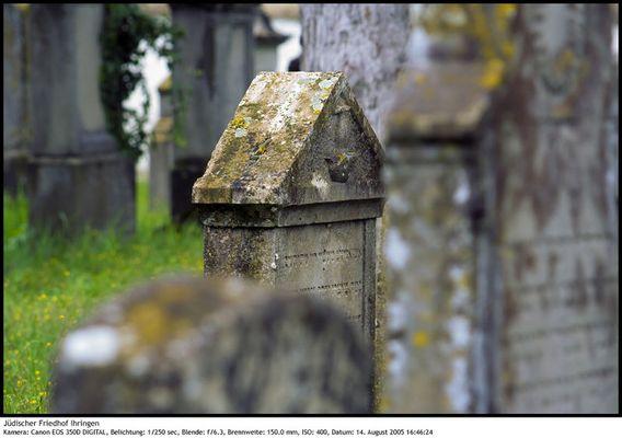 Jüdischer Friedhof Ihringen