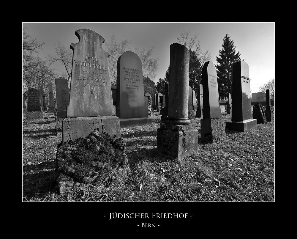 - Jüdischer Friedhof in Bern -