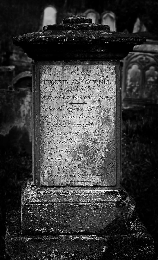 Jüdischer Friedhof IV - Eugenie