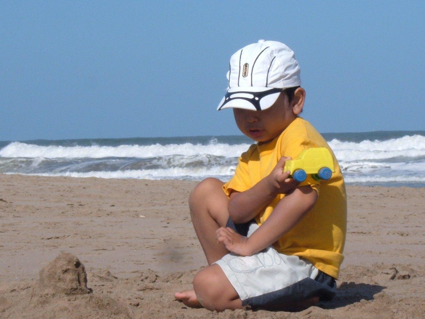 Juego en la playa