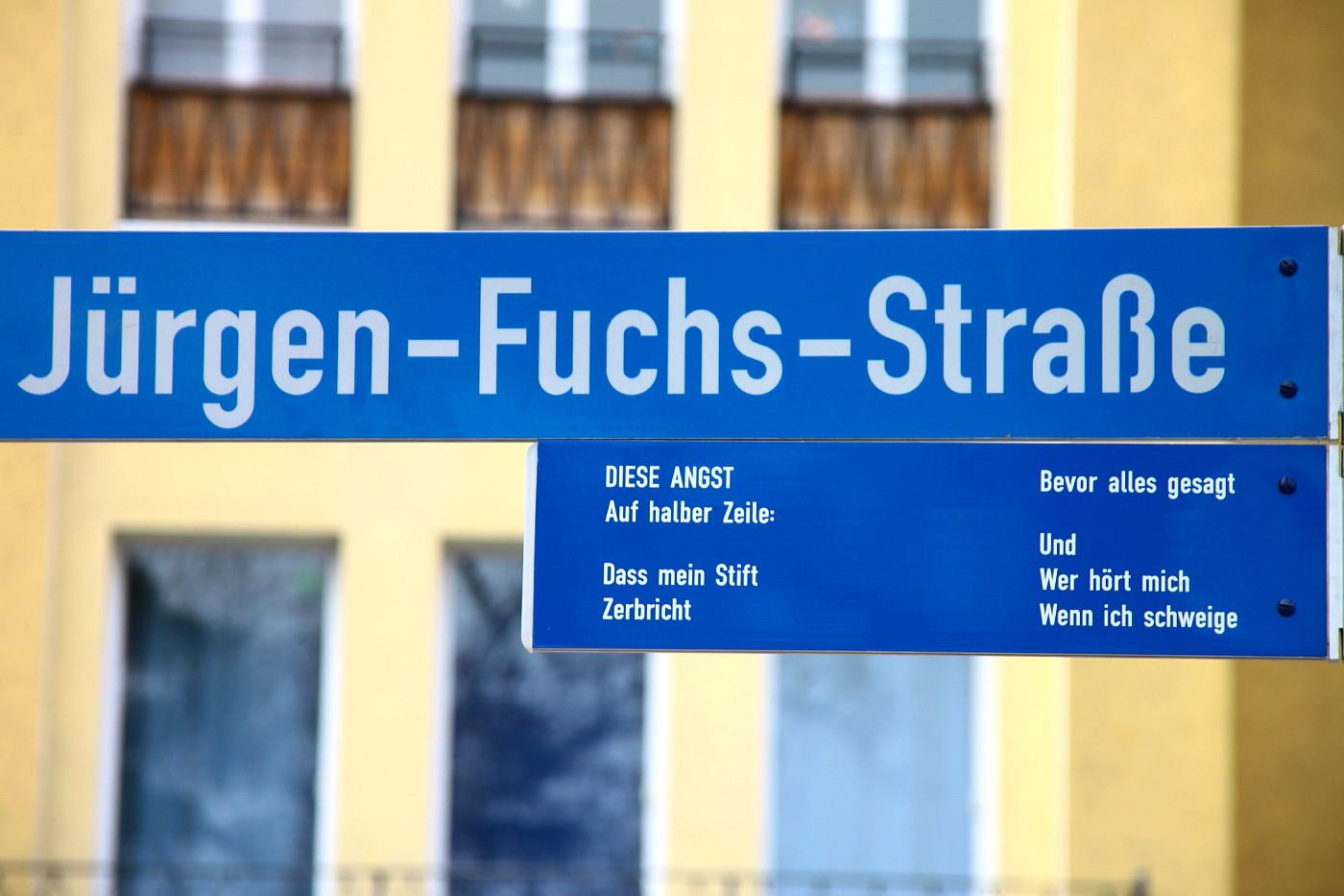 Jürgen Fuchs Strasse (3)