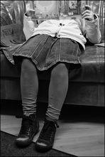 Jugend liest - mit Strümpfen :O))