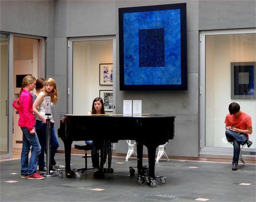 Jugend musiziert...im Hof