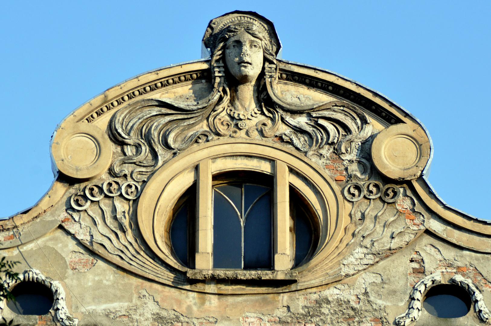 Jugendstil Detail in Krakau