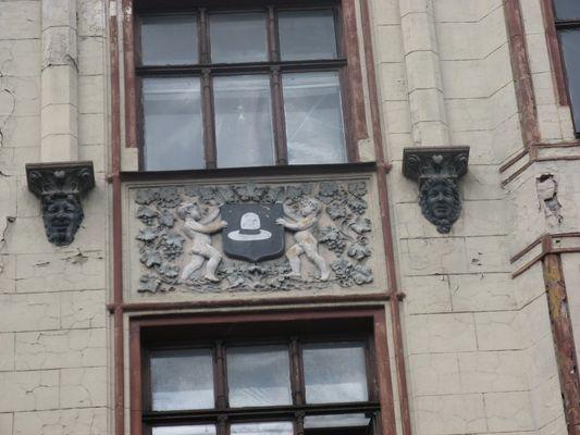 Jugendstil Fassade in Riga