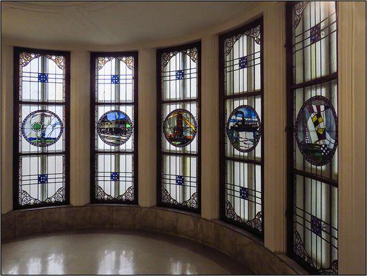 Jugendstil-Fenster