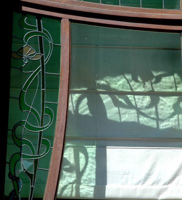 Jugendstil Fenster in Brüssel