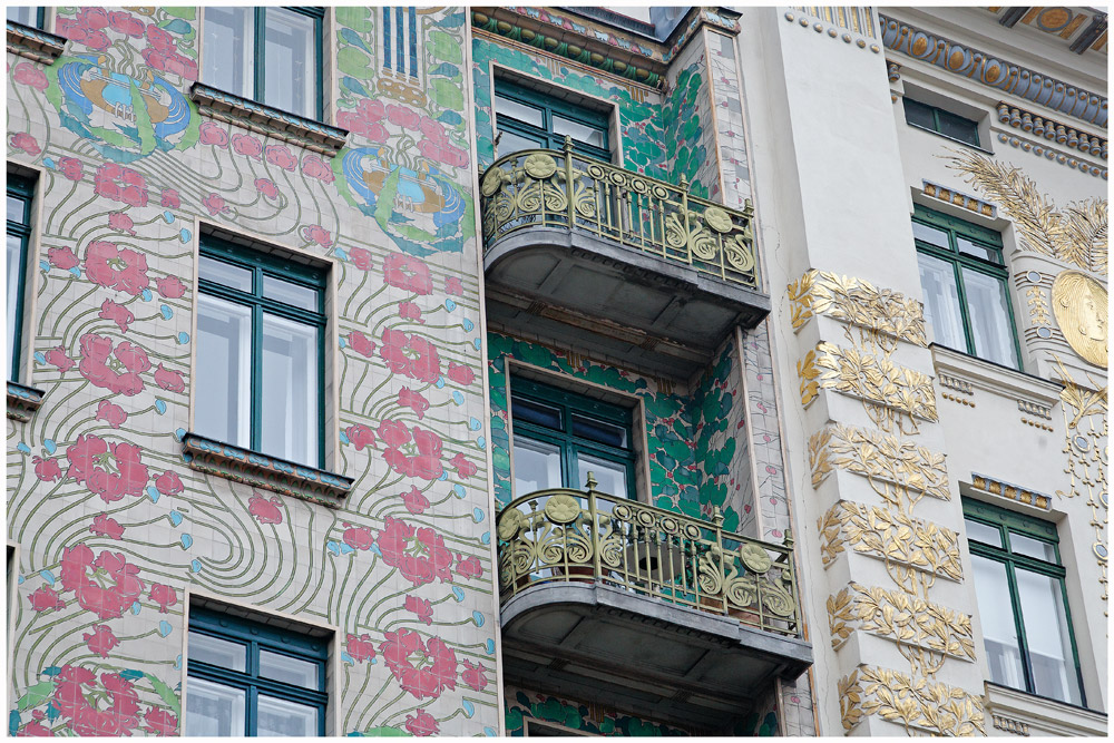 Jugendstil iii ornamente der architektur am naschmarkt for Architektur jugendstil