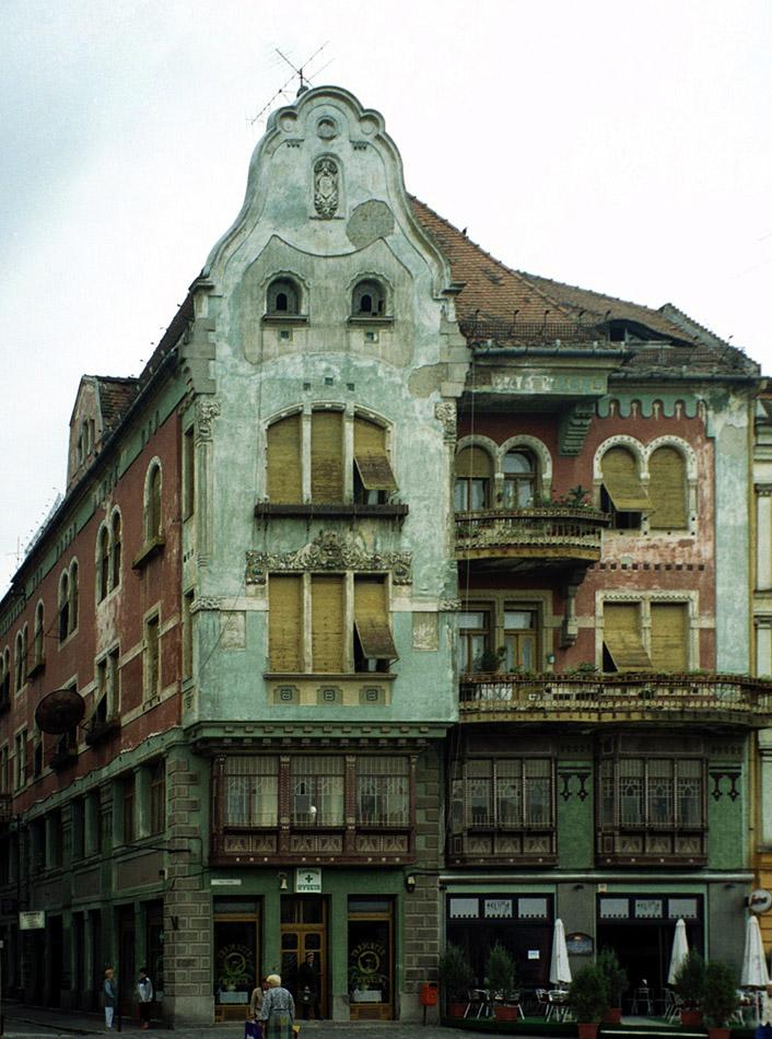 Jugendstil in Temesvar (Temeswar oder Temeschburg)