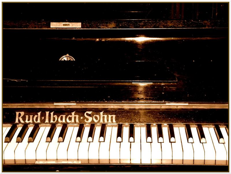 Jugendstil Klavier