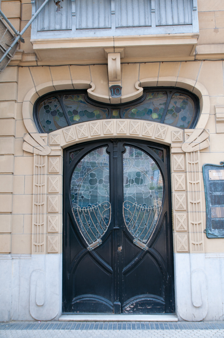 Jugendstilästhetik in Donostia (San Sebastian)
