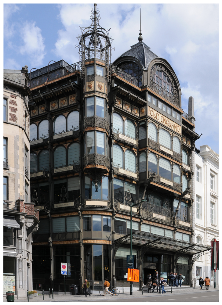 Jugendstilbauten von Victor Horta - Brüssel