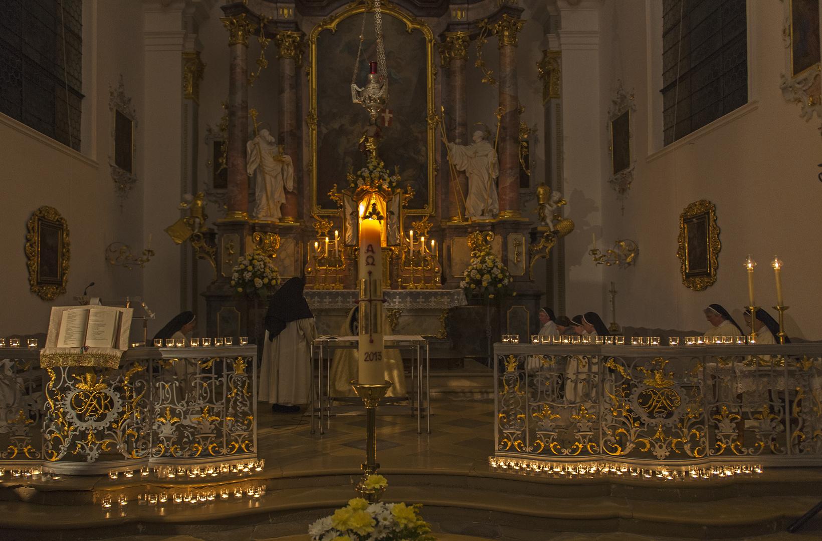 Jugendvigil iin der Abtei Oberschönenfeld 2