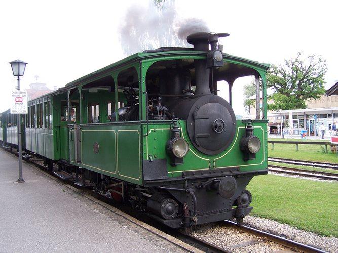 -- Juli 2005 Chiemsee Dampfstraßenbahn --