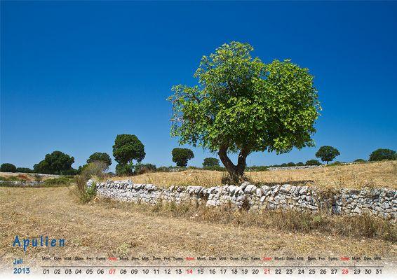 Juli 2013 Apulien