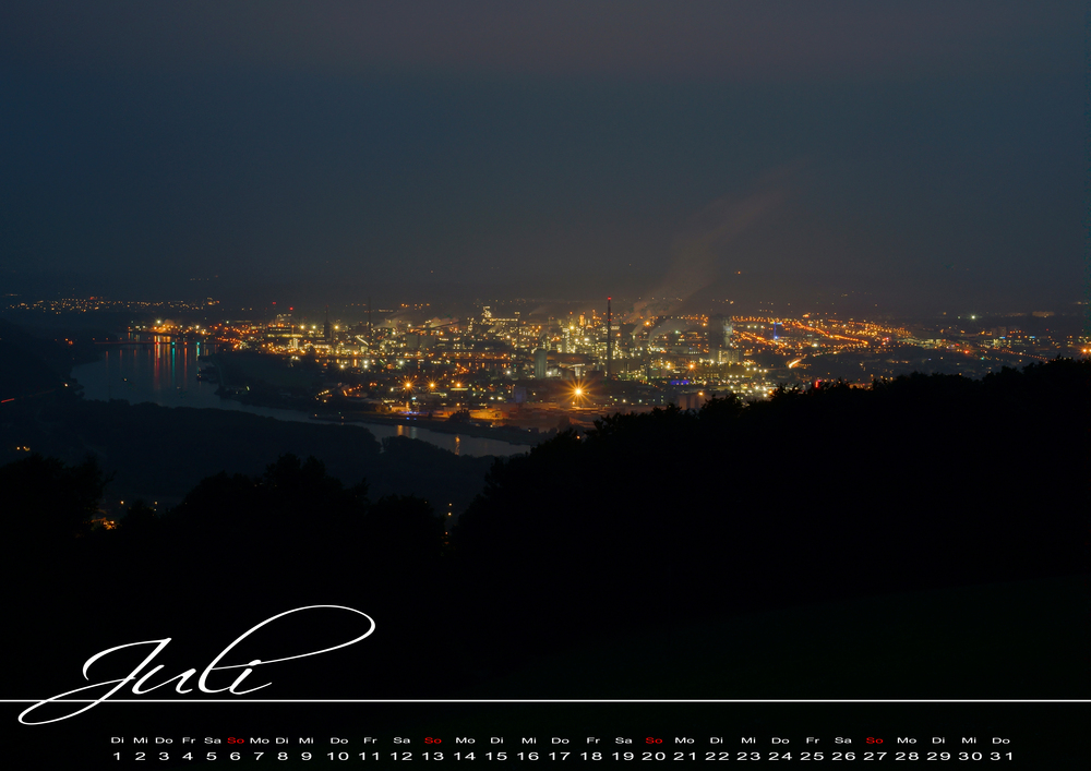 Juli - Kalender 2014