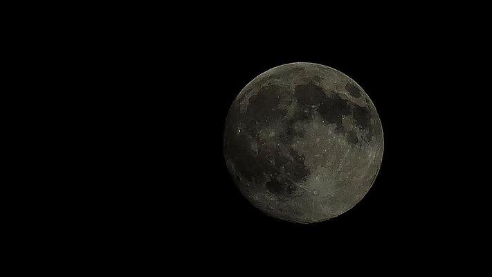 Juli-Mond in Acharavi/Korfu/Griechenland
